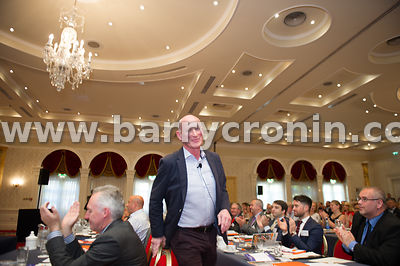 Wednesday 9th June, 2015.Small Firms Association 'Boost' Conference at the Clyde Court Hotel. Pictured is guest speaker Brian...