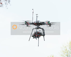 Cross country lake drone - cross country - Mitsubishi Motors Badminton Horse Trials 2018
