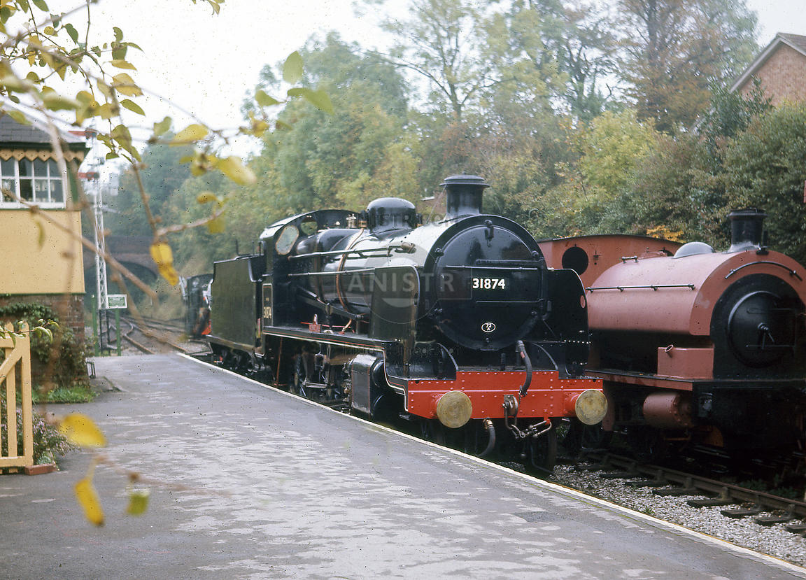 Steam loco N 31874 Alresford