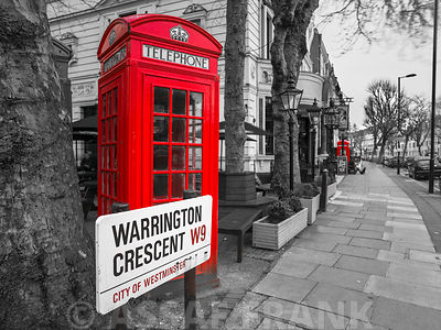 Telephone Box at Warrington Crescent, London