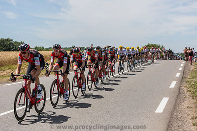 The BMC Racing Team - Tour de France 2017