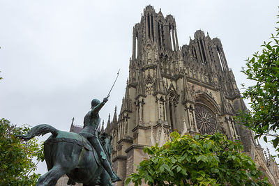 France, Champagne, Reims