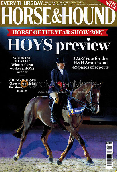 Fiona Hirst and Dartans Barrack - Horse & Hound 28th September 2017