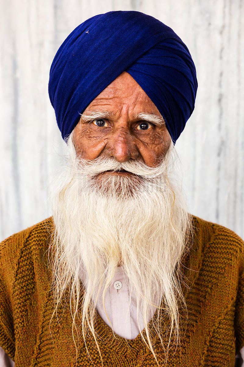 Portrait of a Sikh Devotee