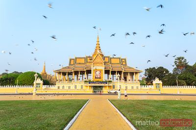 The royal palace, Phnom, Pehn, Cambodia