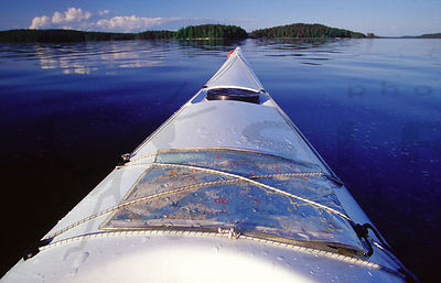 Paddling in the Päijänne