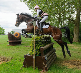 Felicity Collins and RSH CONTEND OR - Rockingham Castle International Horse Trials 2016