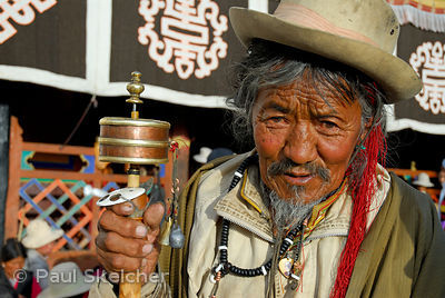 Kora around Jokhang Temple