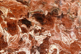 Mould patterns on rock in caverns in Ciudad de Itas, Torotoro National Park, Bolivia
