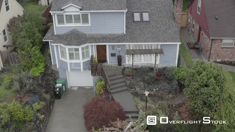 Suburban SIngle Family House in Seattle Washington