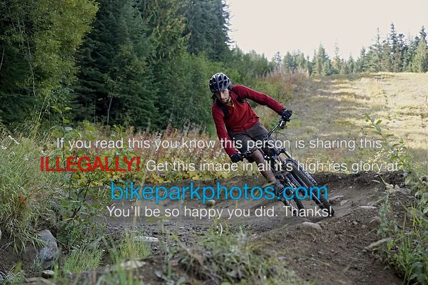 Wednesday September 26th Blueberry Bathtub bike park photos