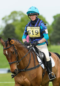 Annie Forsyth and BILLY WAYNE, Fairfax & Favor Rockingham Horse Trials 2018