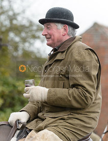 James Sparrow at the meet at Farriers Forge