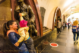 Touching the Hound -Moscow Subway