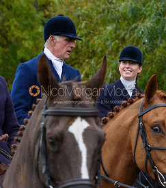 Robin Smith-Ryland near Gartree Covert - Quorn Hunt Opening Meet 2016