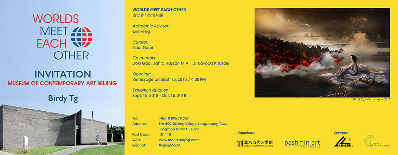 Birdy Tg at MOCA (Museum of Contemporary Art) BEIJING - CHINA