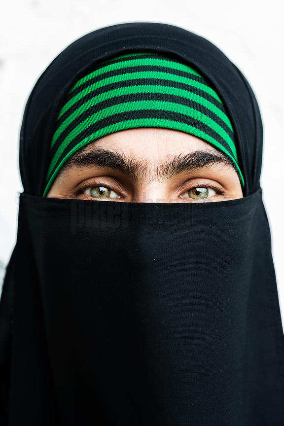 Portrait of a Young Moslem Woman