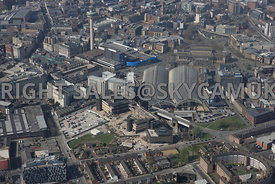 Liverpool Copperas Hill and the Royal Mail redevelopment area of Liverpool