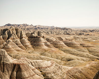 Parnoramic Point.  (Badlands National Park, South Dakota)