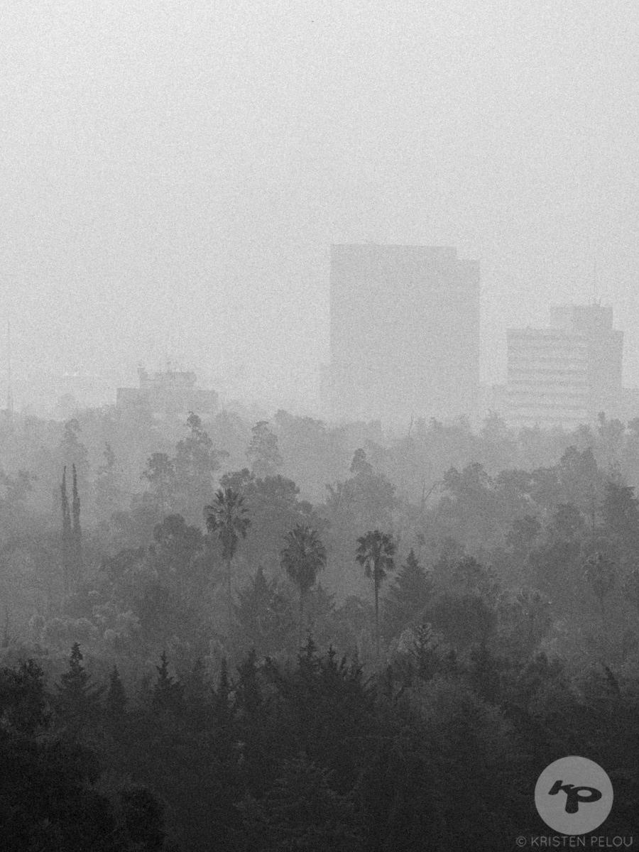 Tropical smog, Mexico Cuidad. Photo : ©Kristen Pelou
