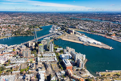 Pyrmont Looking West