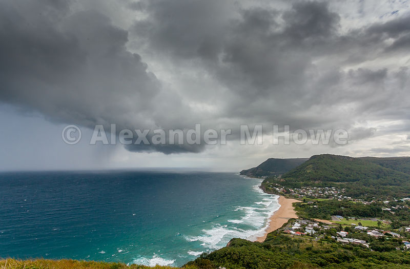 Storm Brewing over New South Wales Coastline