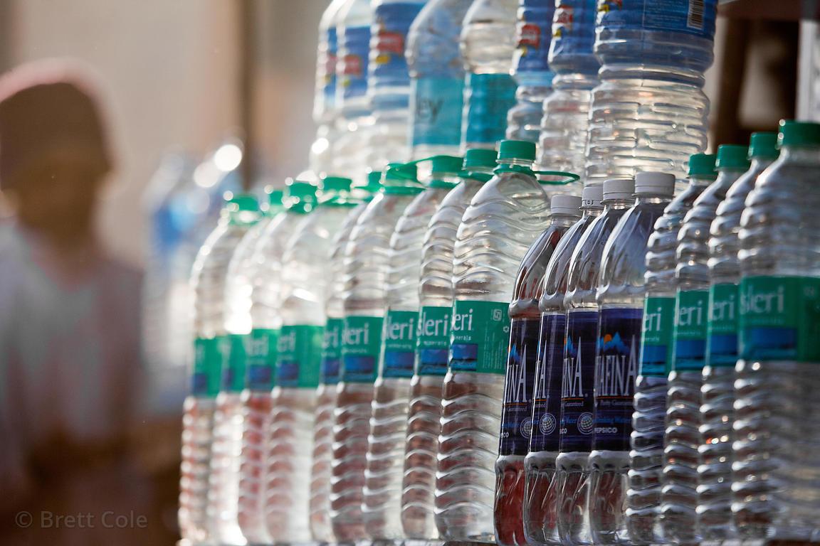 Brett Cole Photography | Bottled water for sale in Jaisalmer
