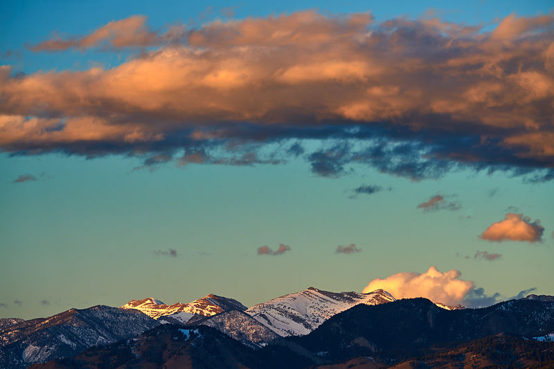 Bridger Range Sunset