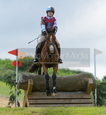 Belinda Dow - Intermediate - Quorn Hunt Pony Club Tetrathlon 2016
