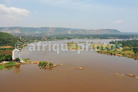 Bangui from above