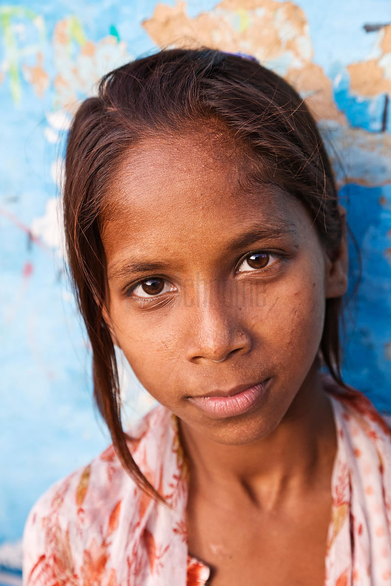Portrait of a Shanty Town Girl