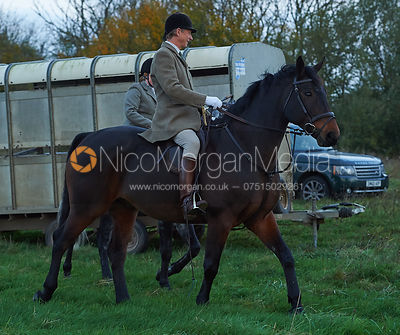 Nicholas Leeming - The Cottesmore Hunt at America Crossroads 17/10