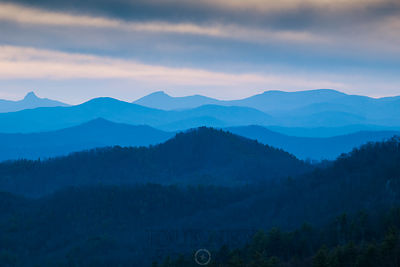 Blue Ridge Mountain Layers