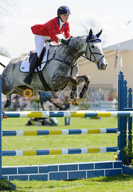 Tiana Coudray and RINGWOOD MAGISTER - show jumping phase,  Land Rover Burghley Horse Trials, 2nd September 2012.