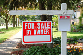 House For Sale By Owner Sign Picture