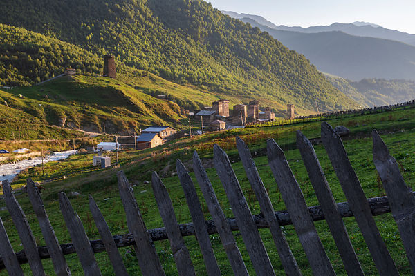 Fence and Fortified towers of Ushguli