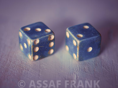 Two old dice