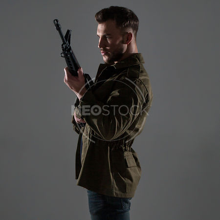 Danny Cinematic Action Stock Photography