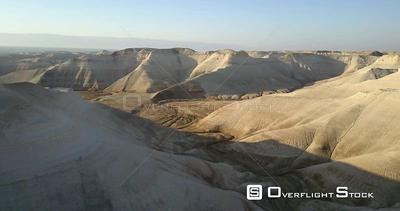Aerial view of Jordan River reserve, Southern Jordan valley