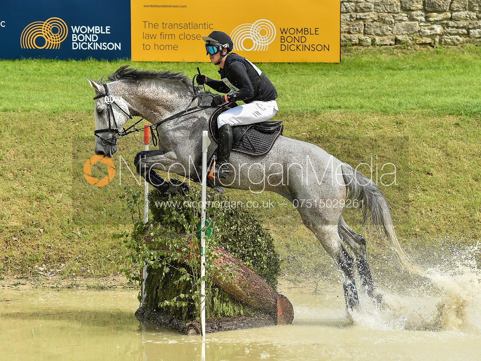 Pontus Hugosson and CUT THE CUTENESS, Equitrek Bramham Horse Trials 2018