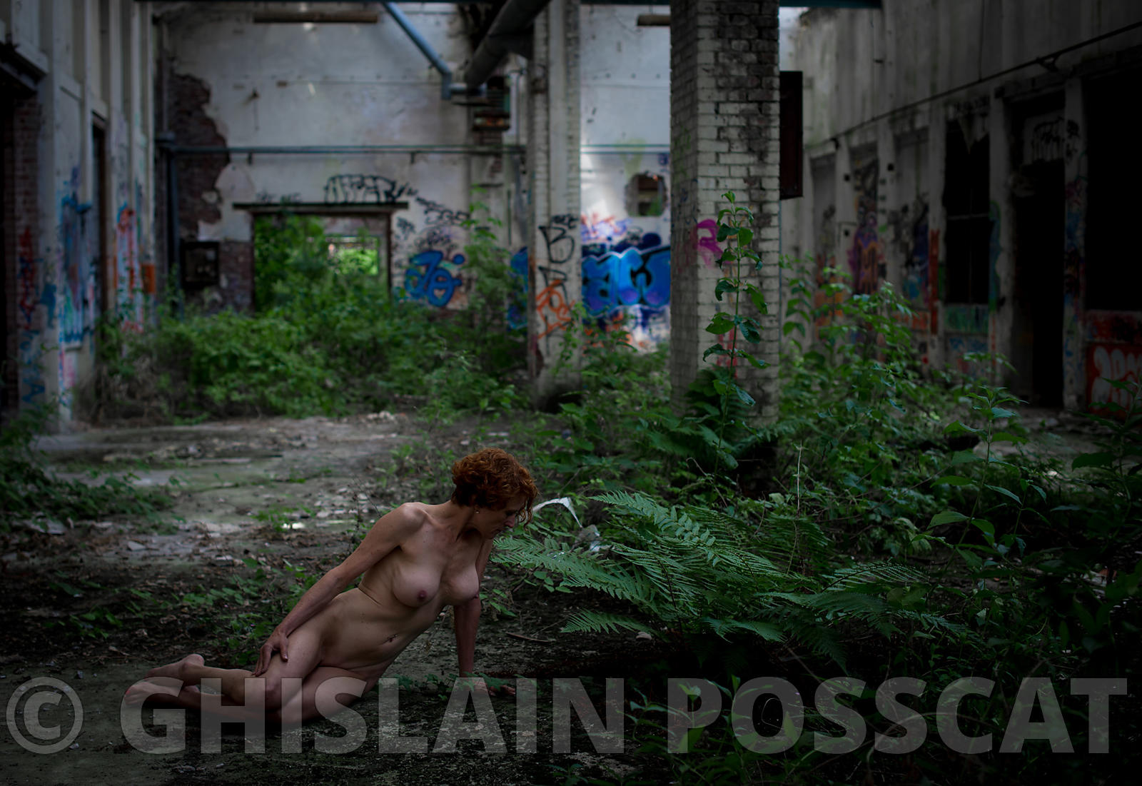 Nature takes her rights back- Ghislain posscat, erotic pictures, nude fine art, erotic photographer