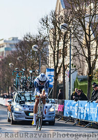The Cyclist Keizer Martijn- Paris Nice 2013 Prologue in Houilles