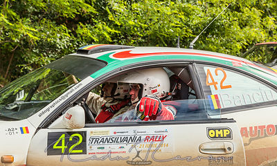 Waiting for the Start-Transylvania Rally 2014