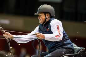 Bordeaux, France, 4.2.2018, Sport, Reitsport, Jumping International de Bordeaux - FEI WORLD CUP™ DRIVING FINAL - 2nd ROUND. B...
