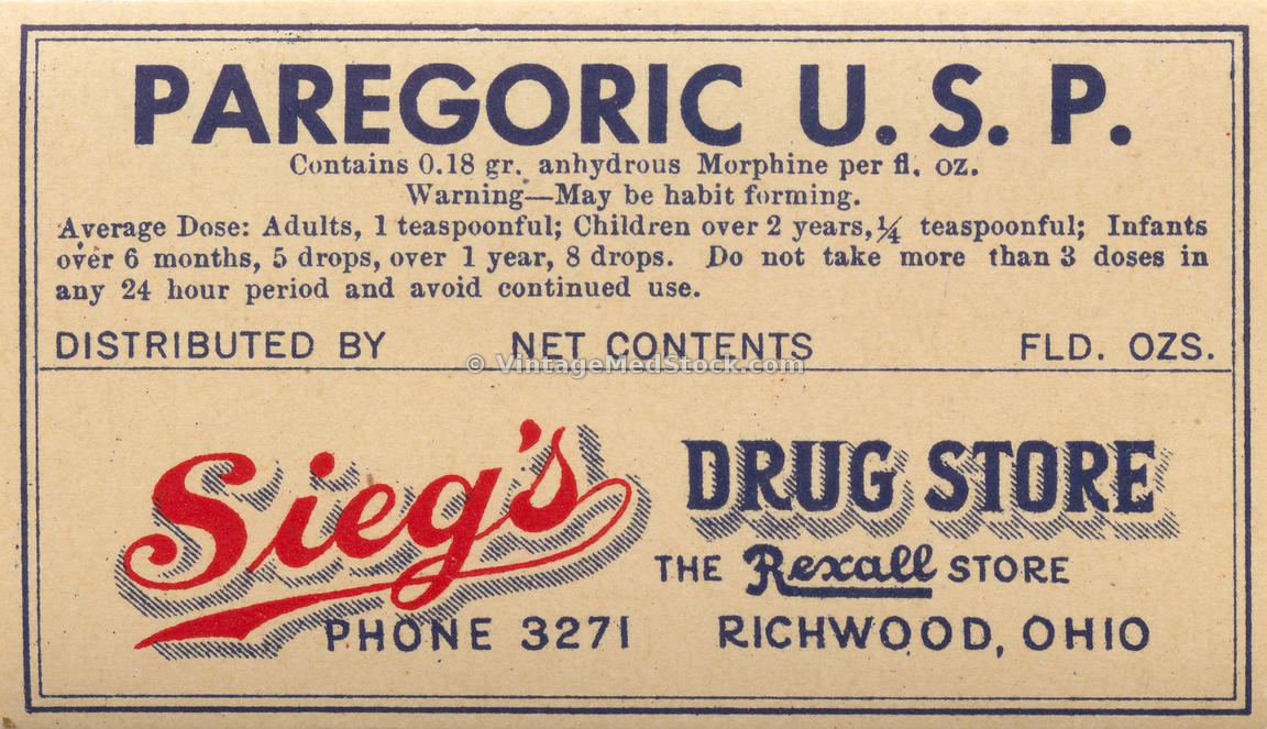 Antique Prescription Labels
