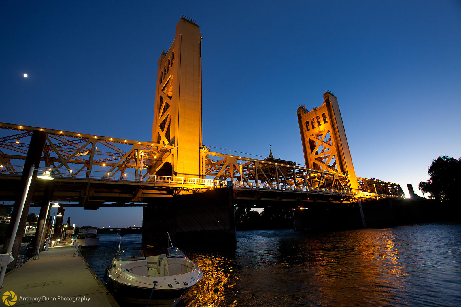 Tower Bridge over the Sacramento River #1