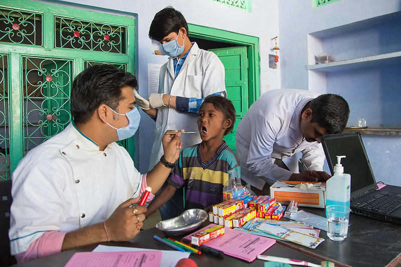 We do our best to provide dental care for our students, not an easy task