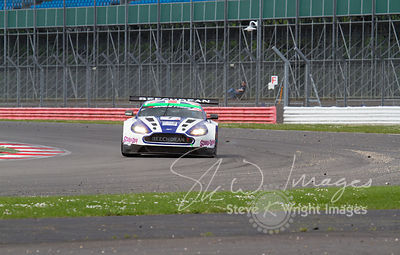 Beechdean Aston Martin Racing in action at the Silverstone 500 - the third round of the British GT Championship 2014 - 1st Ju...