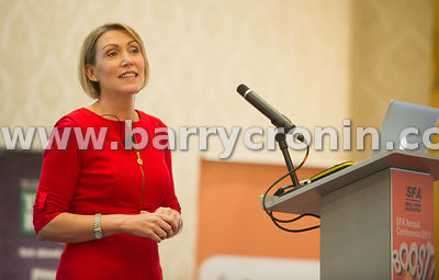 Wednesday 9th June, 2015.Small Firms Association 'Boost' Conference at the Clyde Court Hotel. Pictured is guest speaker Dr Ni...