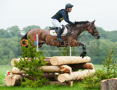 Oliver Townend and  COOLEY MASTER CLASS - cross country - CIC** - Somerford Park (2) Horse Trials 19/8/12